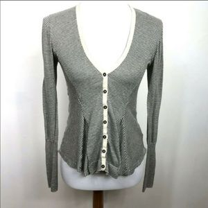 Sparrow Anthropology Striped Cardigan
